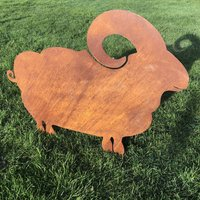Large Sheep Garden Feature