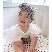 Leopard Print Bloomers Set