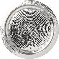 Hammered Silver Serving Tray