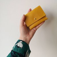 Leather Coin And Card Purse