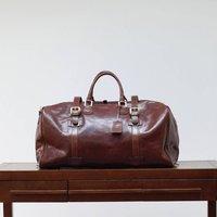 Personalised Extra Large Leather Holdall Flero El