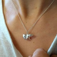 Personalised Bear Necklace