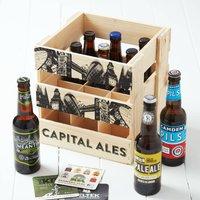 Wooden Crate Of London Craft Beer