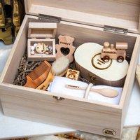Neutral Precious Baby Keepsake Box