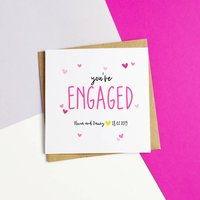 Personalised 'You're Engaged' Card
