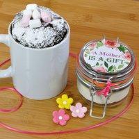 A Mother Is A Gift Chocolate Mug Cake Treat