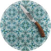 Flourishing Garden Circular Chopping Board