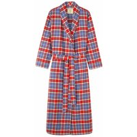 Womens Thorncliffe Tartan Two Fold Flannel Robe