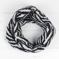 Zebra Knitted Snood/Cowl