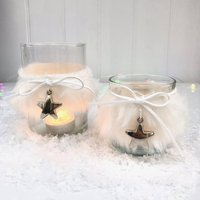 Pair Of Tea Light Holders