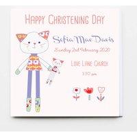Christening, Baptism, Dedication Girl Card