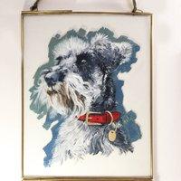 Dog Portrait | Pet Portrait | Gift For Dog Owners
