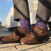 Mens Made In Breat Britain Luxury Socks