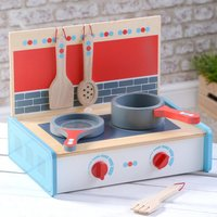 Wooden Kitchen Portable Play Set