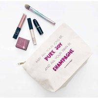 Make Up Bag Champagne