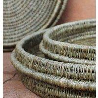 Gogo Grass Woven Tray