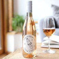 Personalised Thank You Teacher Bottle Of Wine