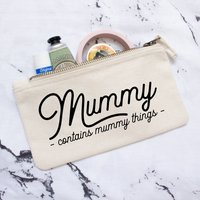 Mummy Things Cotton Bag/Pouch