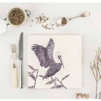 Natural Stone Trivet Brown Pelican