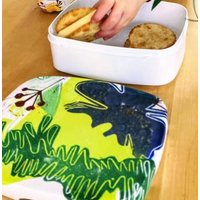 Fig, Fennel And Rosemary Lino Printed Lunchbox