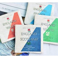 Set Of Six Nations Rugby Coasters