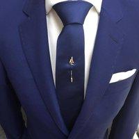 Sail Boat Tie Pin