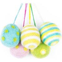 Handmade Felt Easter Eggs