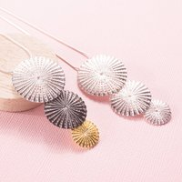 Silver Parasol Pendant, Silver