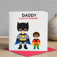 Daddy Superhero Card