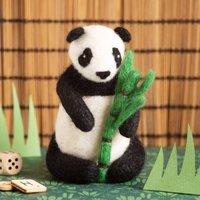 Giant Panda Needle Felting Craft Kit