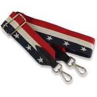 USA Stars And Stripes Canvas Handbag Strap
