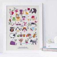 Children's Alphabet Print Personalised