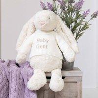 Personalised Bashful Cream Bunny Large Soft Toy