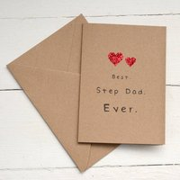 Best Step Dad Ever Card