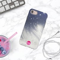 Cosmic Sky Personalised Initials iPhone Case