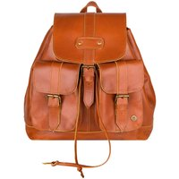Personalised Buffalo Leather Nomad Backpack/Rucksack