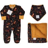 Personalised Luxury Woodland Baby Gift Set