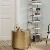 Brushed Brass Side Table