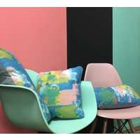 Abstract Painterly Cushion