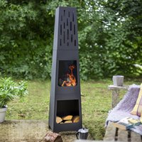 Oxford Chiminea Patio Heater And Log Store