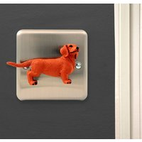 Sausage Dog Light Switch