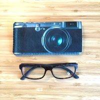 Retro Camera Glasses Case