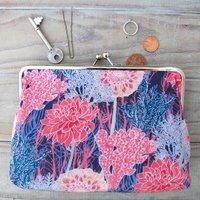 Nancy Silk Clutch Bag