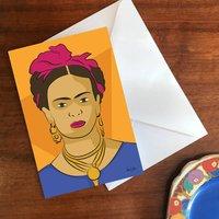 'Frida' A6 Greetings Card