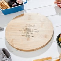 Personalised Dad Cheese Board