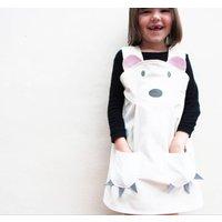 Polar Bear Girls Dress Up Costume