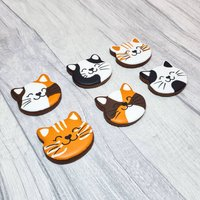 Cat Lover Luxury Biscuit Gift Box, Hand Iced Biscuits