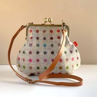 Purse Bag In Grey Spot Limited Edition