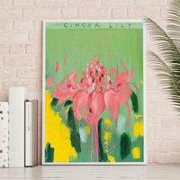 'The Ginger Garden' Art Print