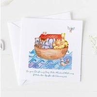 Christening Cards For Boys And Girls Noahs Ark